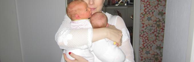 Mina tvillingar på 4-årskontroll & barnglasögon