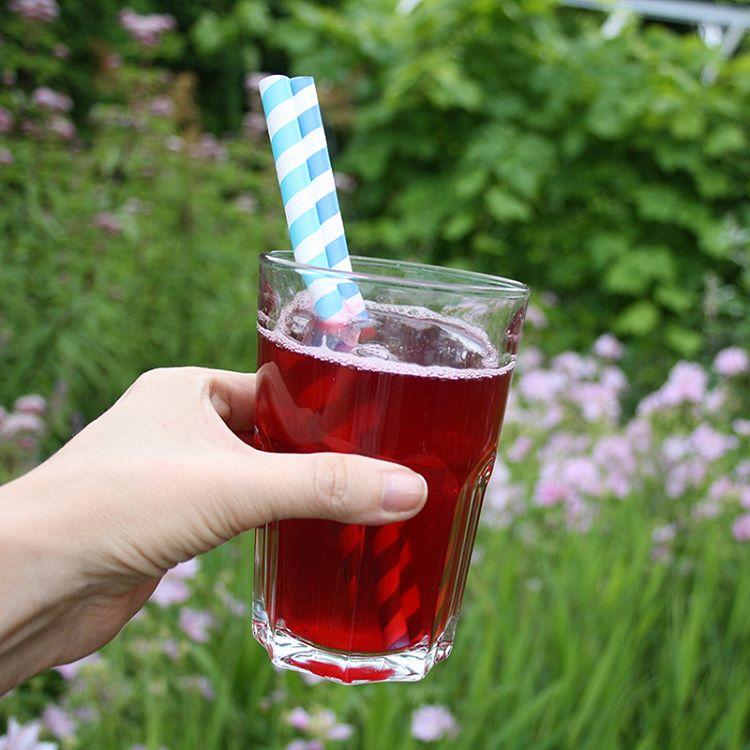 Recept på svartvinbärssaft i bloggen! :) www.kathe.nu #svartvinbär #bär #saft #recept #safta #sylta #sommar #sverige #barnkalas #sugrör
