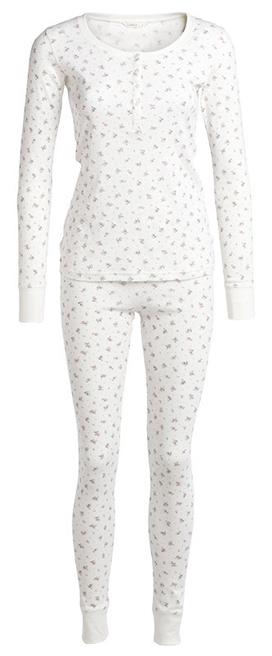 Det är snyggt med pyjamasshorts eller slinkiga nattlinnen men jag tycker  det blir för kallt när det kommer till kritan. Det här sovsetet kommer från  Lindex ... a9a6510bd977f