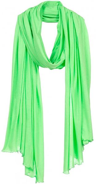 grön sjal