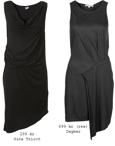 Svarta klänningar