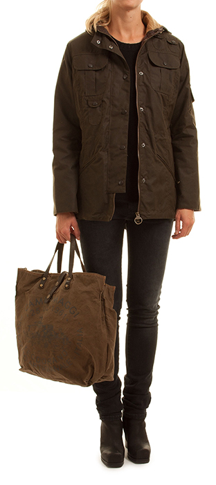 Barbour jacka vinter parka Nobo Design