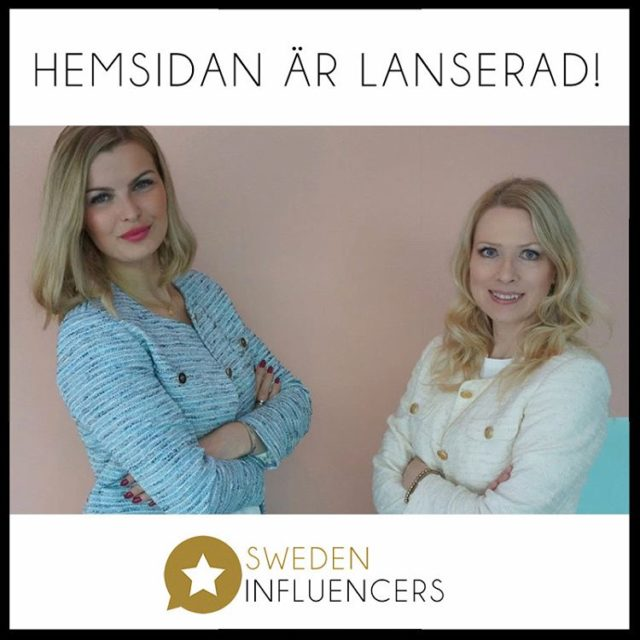 Nu lanserar vi hemsidan! Allt inom influencers marketing under etthellip