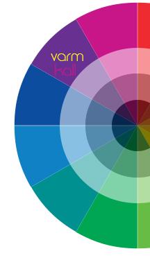 varma och kalla färger färganalys