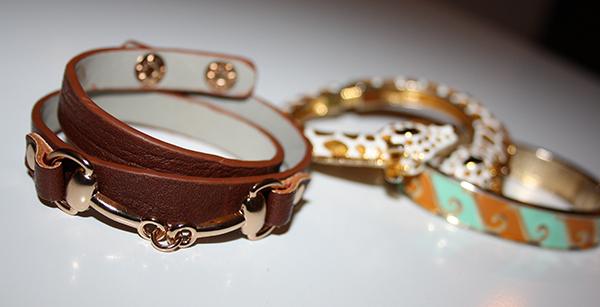 armband horsebite glitter