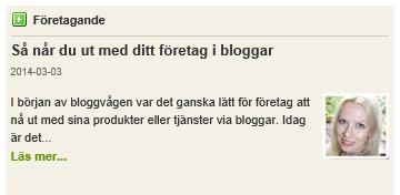 artikelblogg
