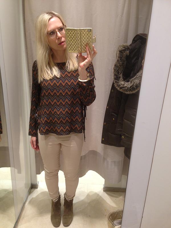 Fin topp hos Zara