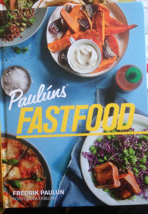 Paulúns nya bok Fastfood för snabb middag