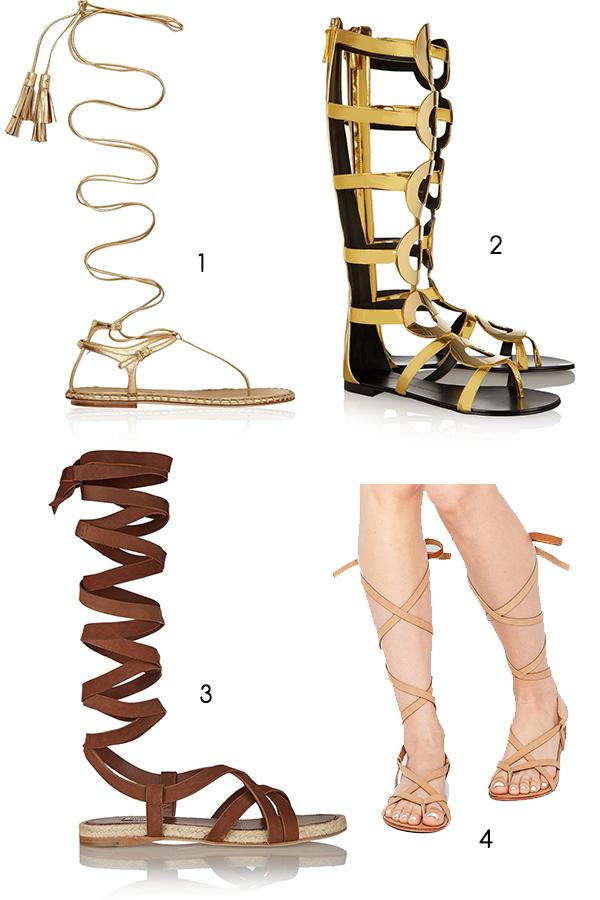 Hoppas ni inte fryser om tårna allt för mycket av det här inlägget. 🙂 Jag  har hittat fler knähöga sandaler (mer eller mindre)  de tre första riktigt  dyra ... b28185c116a78