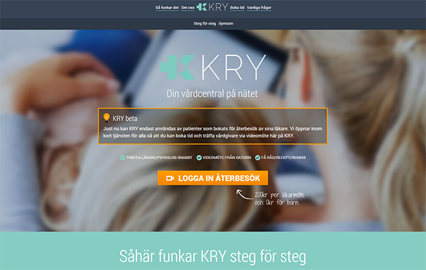 KRY - en vårdcentral på nätet