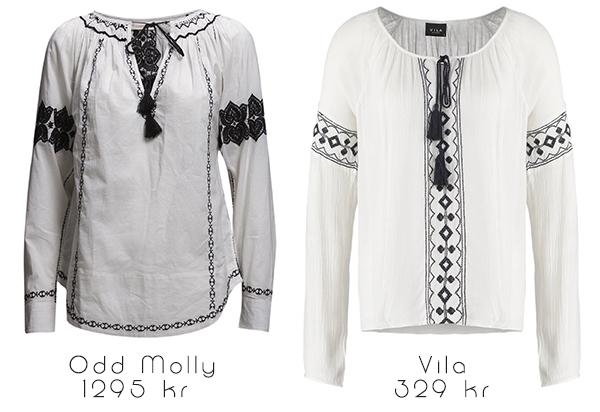 Blus från Odd Molly eller Vila?