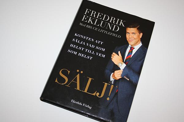 Sälj! av Fredrik Eklund – en recension