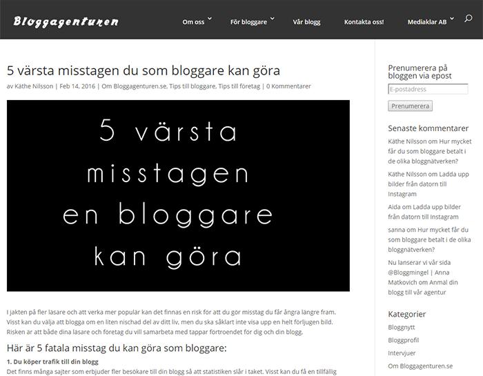 bloggaresomfuskar