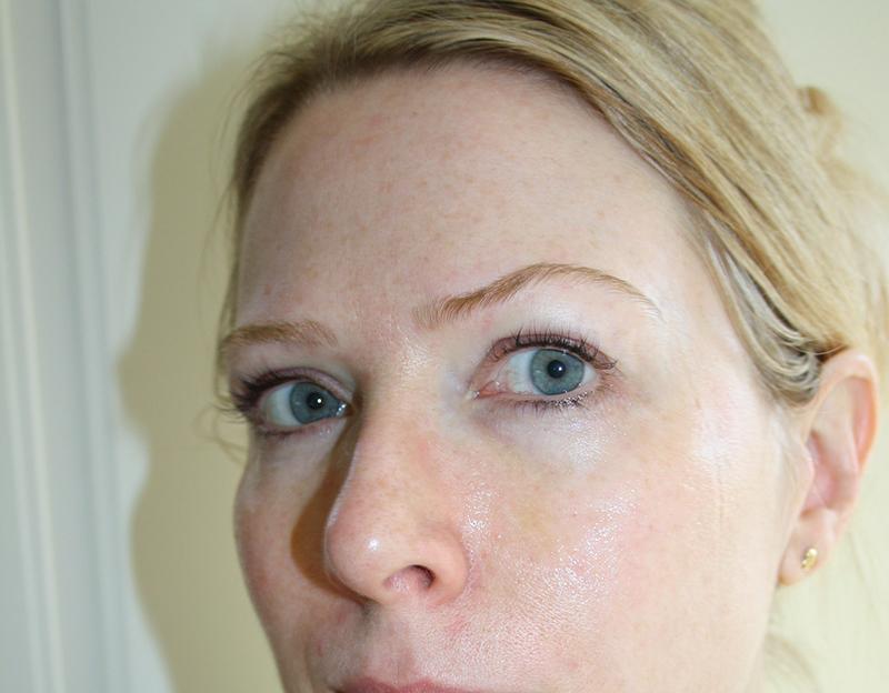 ansiktsbehandling hemma