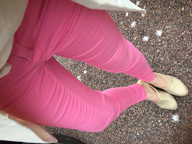 rosa byxor