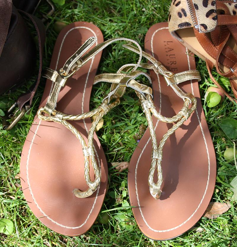 sandaler lauren ralph lauren
