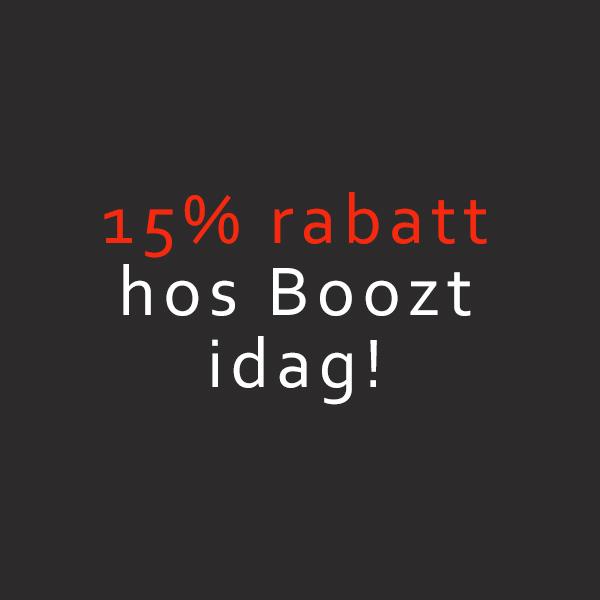 15% rabatt hos Boozt