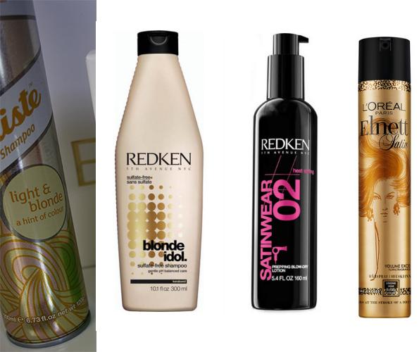 mina 4 favoritprodukter till hår