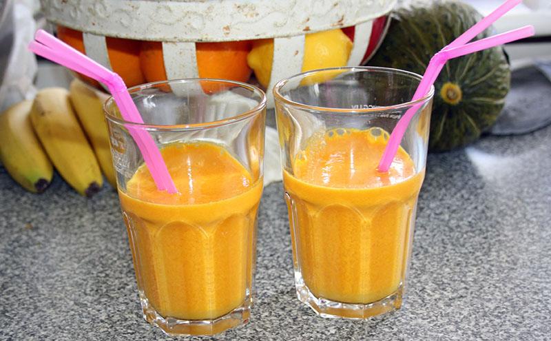 juice morot apelsin ingefara