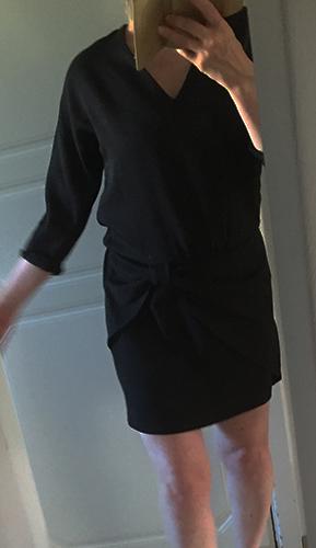 klanning svart