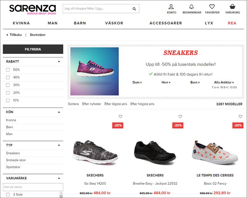 50% rabatt sneakers