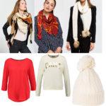 Beställt sjalar, halsduk, mössa, tröja och blus från Zalando