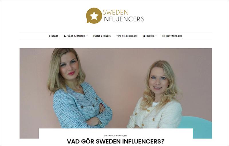 Sweden Influencers lanseras
