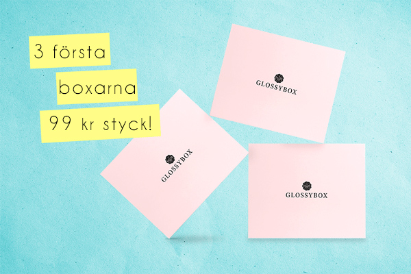 glossybox 99 kr