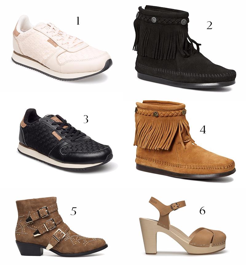 mina skor på rea