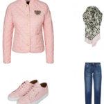 Morris Lady i rosa och denim