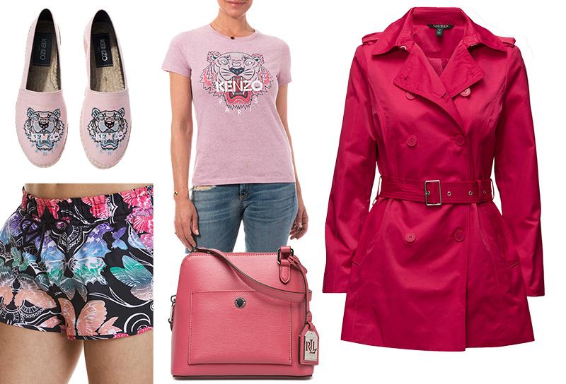 4 nyanser av rosa