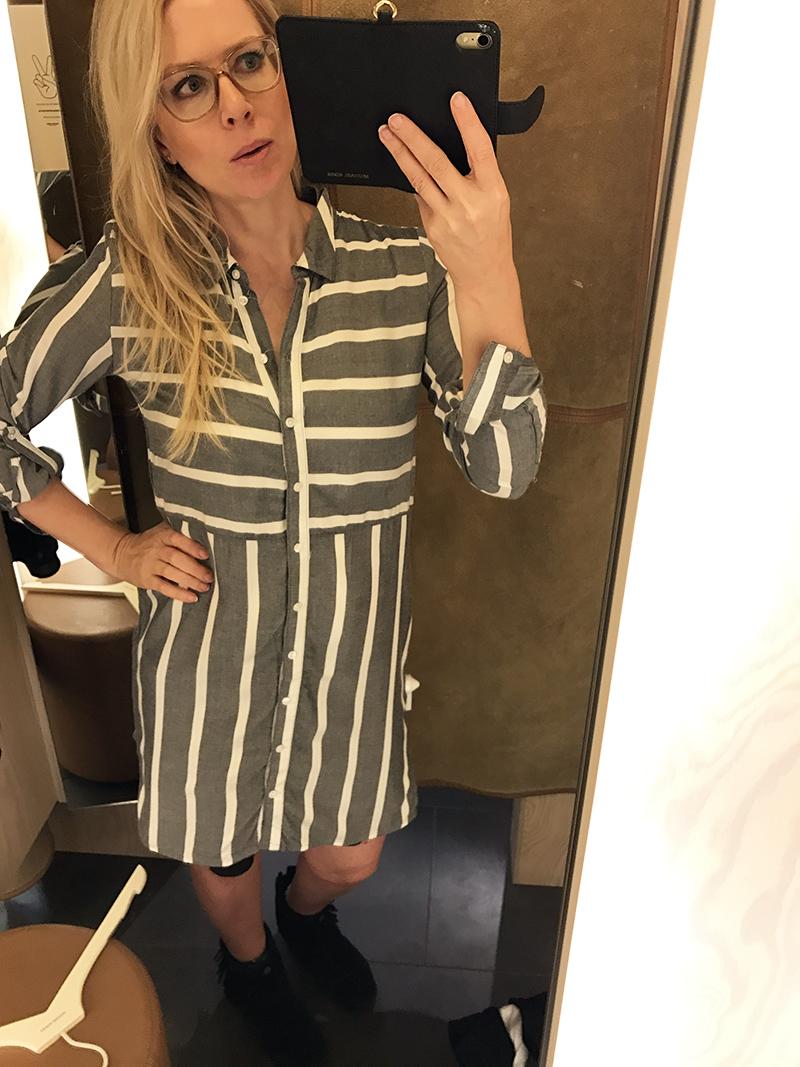 vero moda skjortklänning