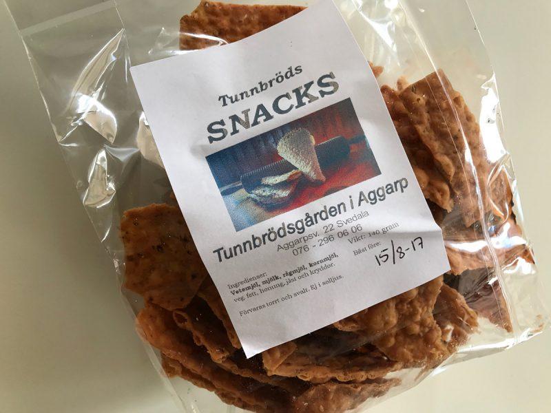 tunnbrödssnacks Tunnbrödsgården Aggarp