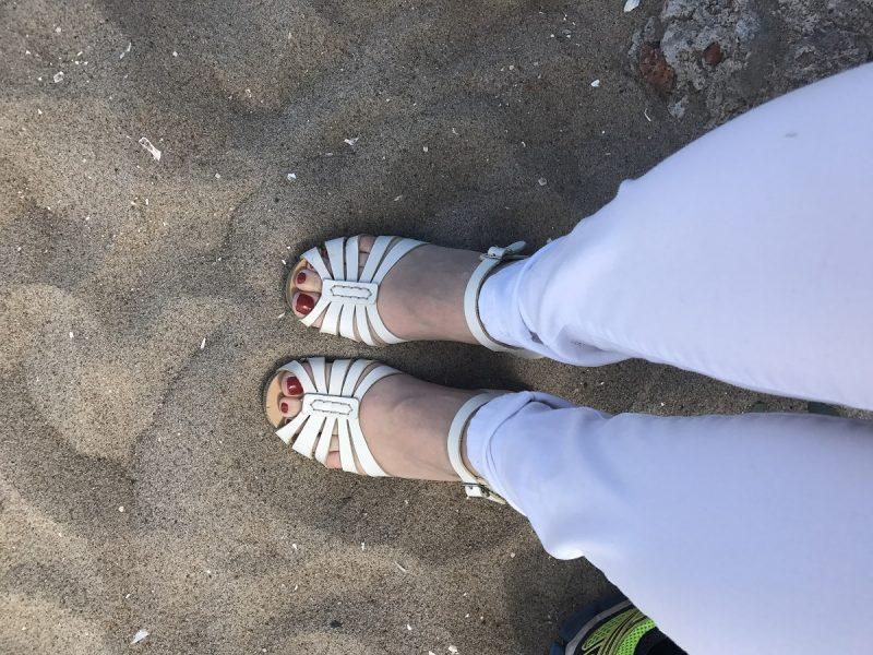 vitt gårdagens outfit