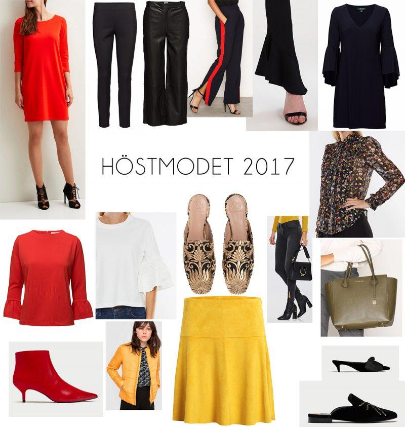 modetrender hösten 2017