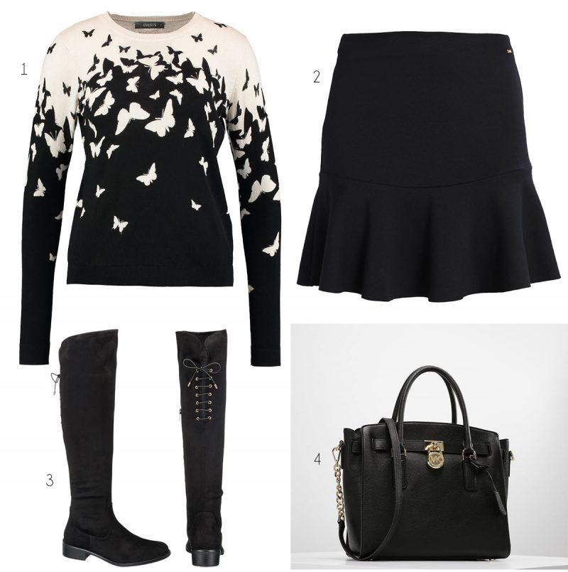 svart vitt fjärilar