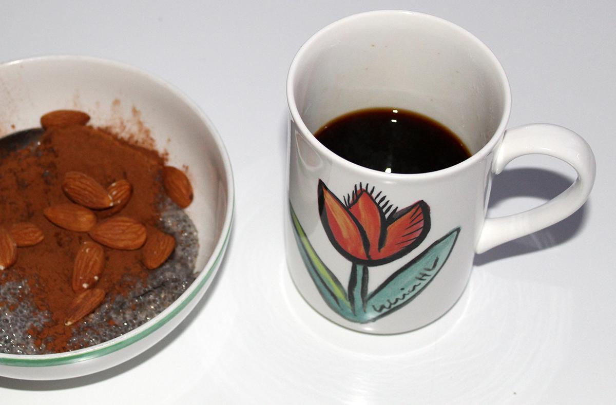 morgon chia kaffe