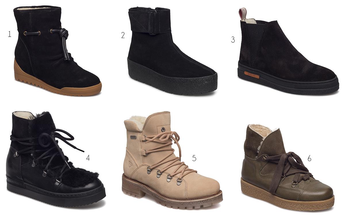 varmfodrade boots