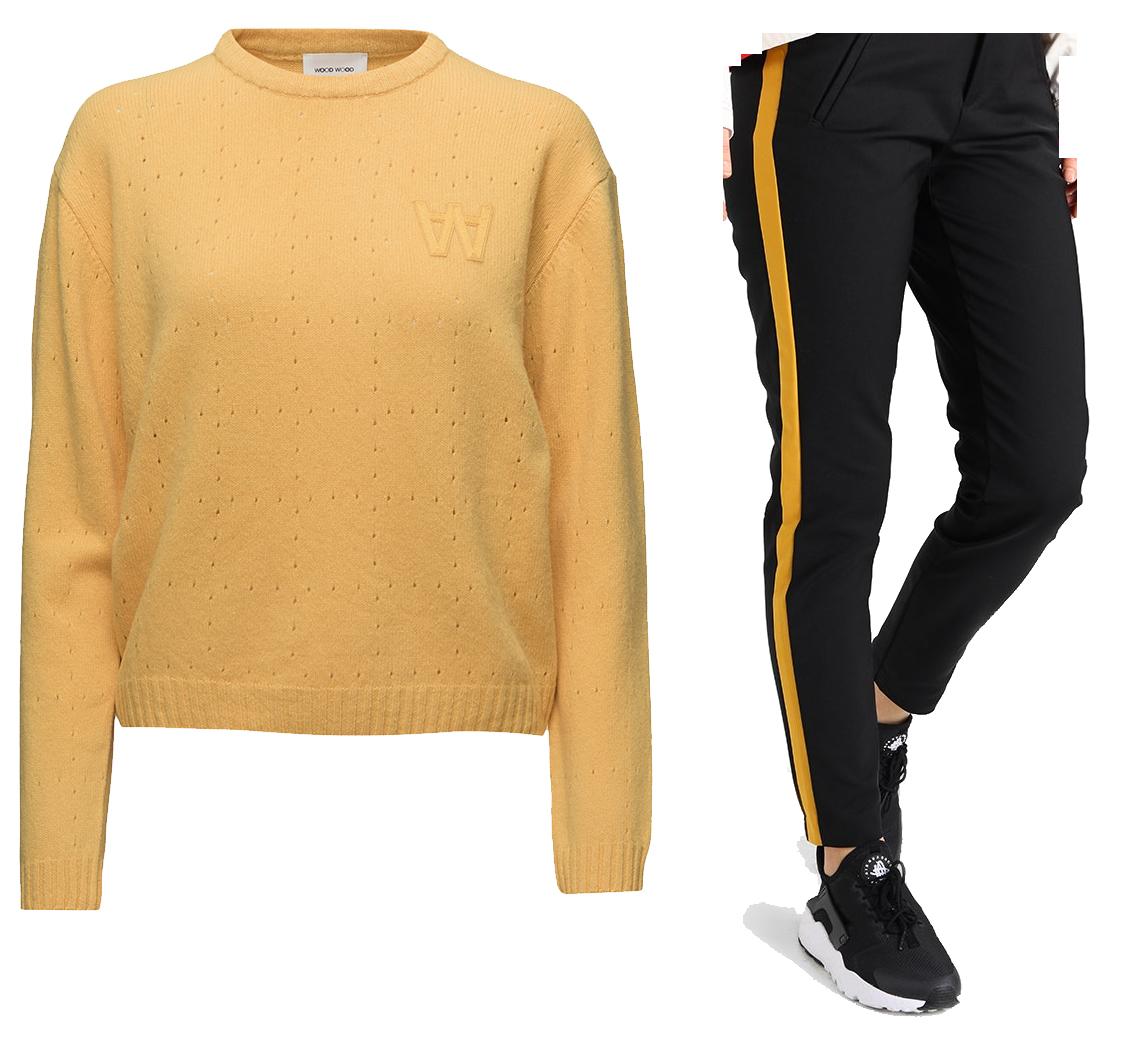 gult sportigt