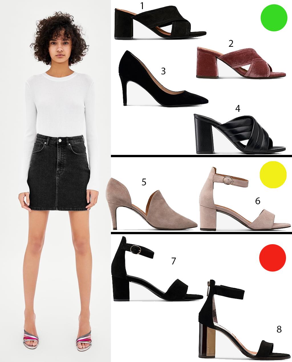 förläng benen med rätt skor