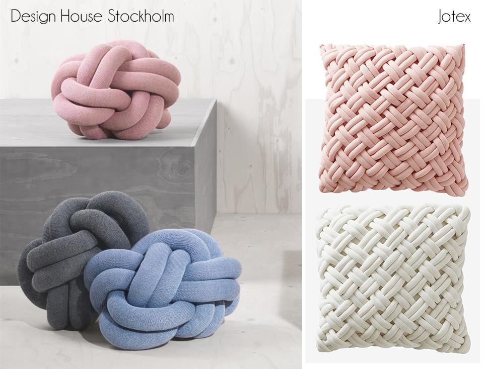 knot kudde