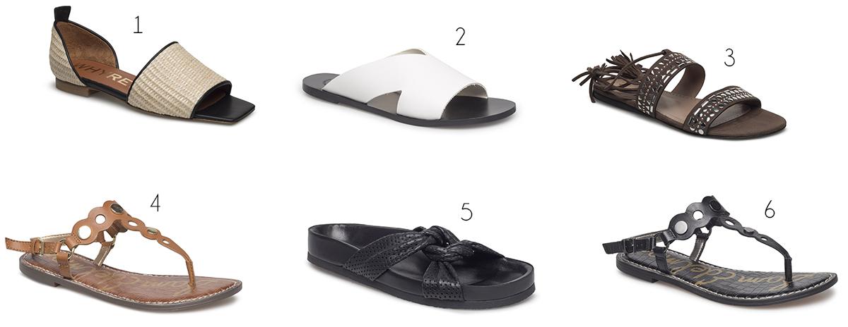 rea designer sandaler