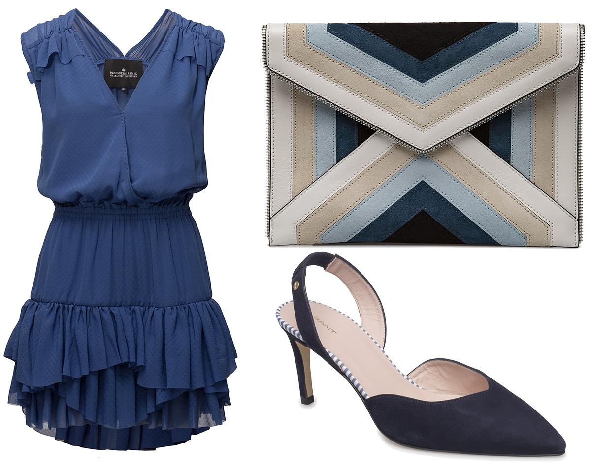 Ingen vår i sikte trots att det är första april. Jag försöker lura våren  med en blå outfit. 😉 f2d2da41b3d1c
