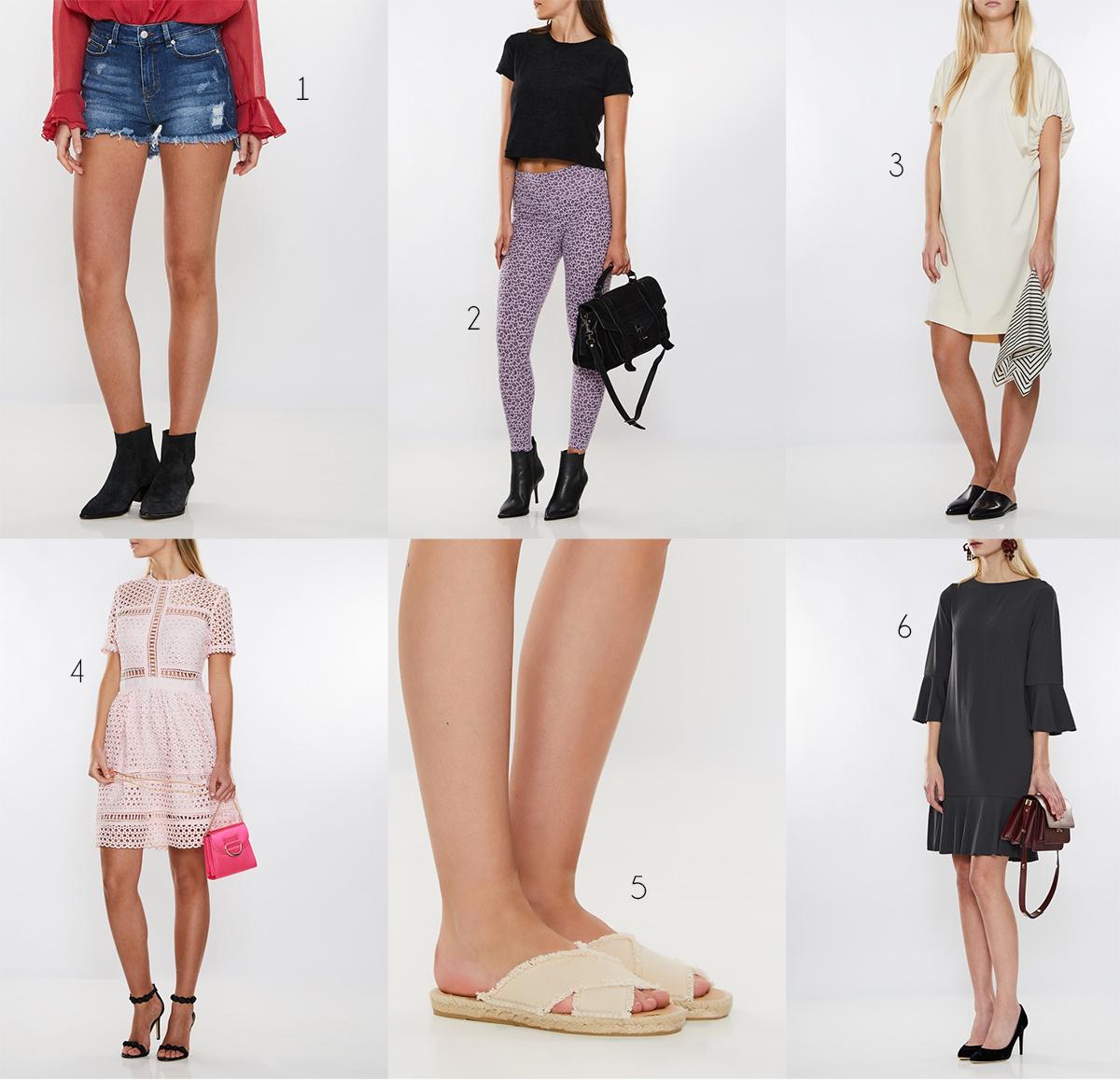 Sandaler och ärmlös klänning – Käthe Nilsson