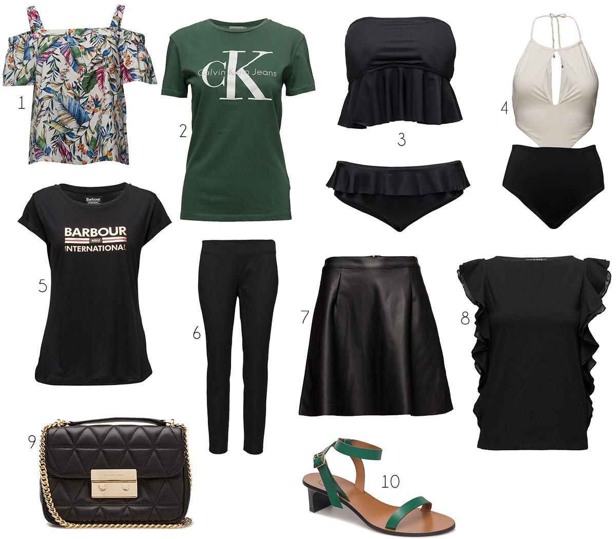 Här är jag valt mest svart fast lagt in några färgklickar – t-shirt 2fa479e6503d2