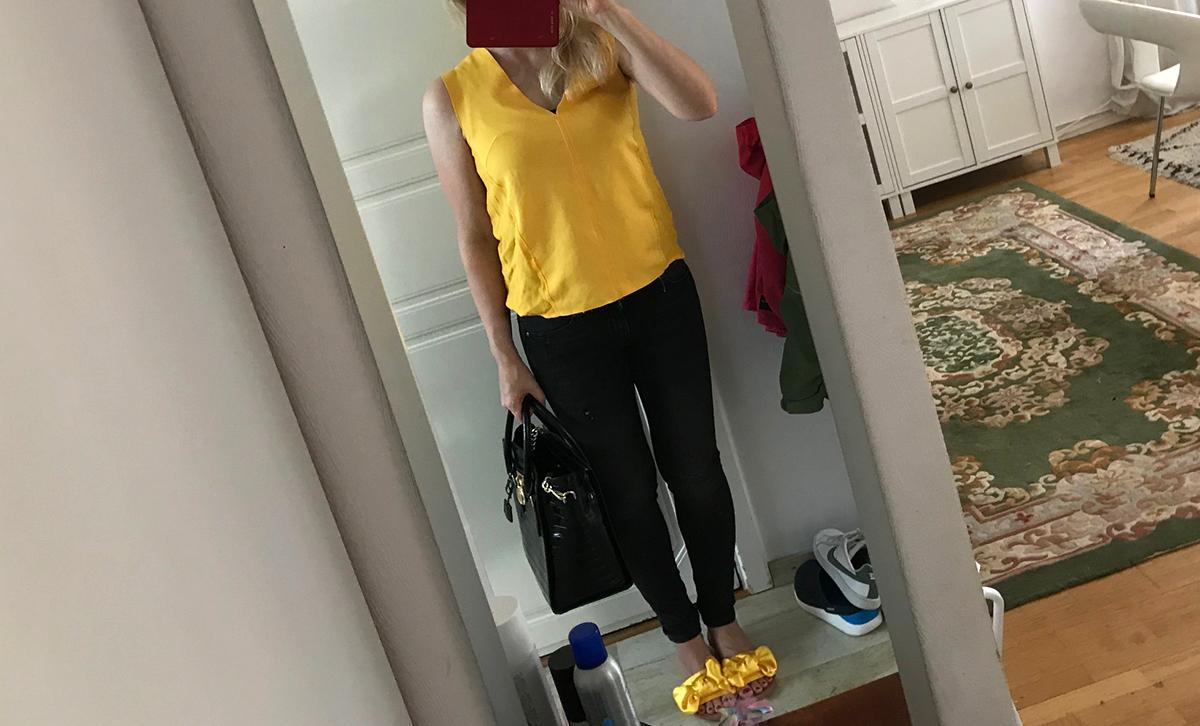 Jag brukar inte gilla gult och svart som färgkombination 7773b72708c13