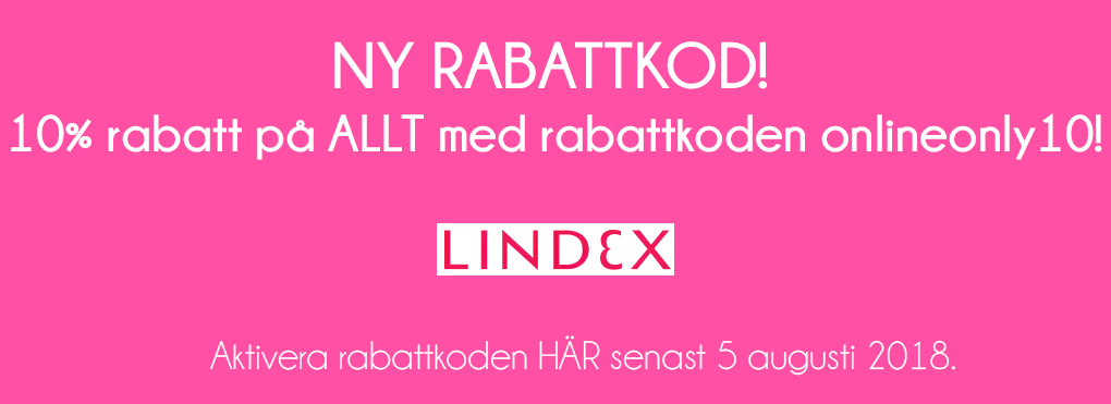 lindex rabattkod