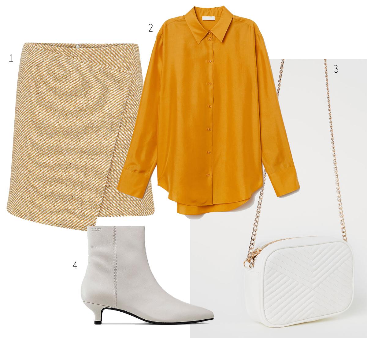 Jag tycker det är underbart att färgen gult och vita boots har fått så stor  plats i höstens mode. Ganska otippat för att vara höstmode. 6aa8d7ad62cb1