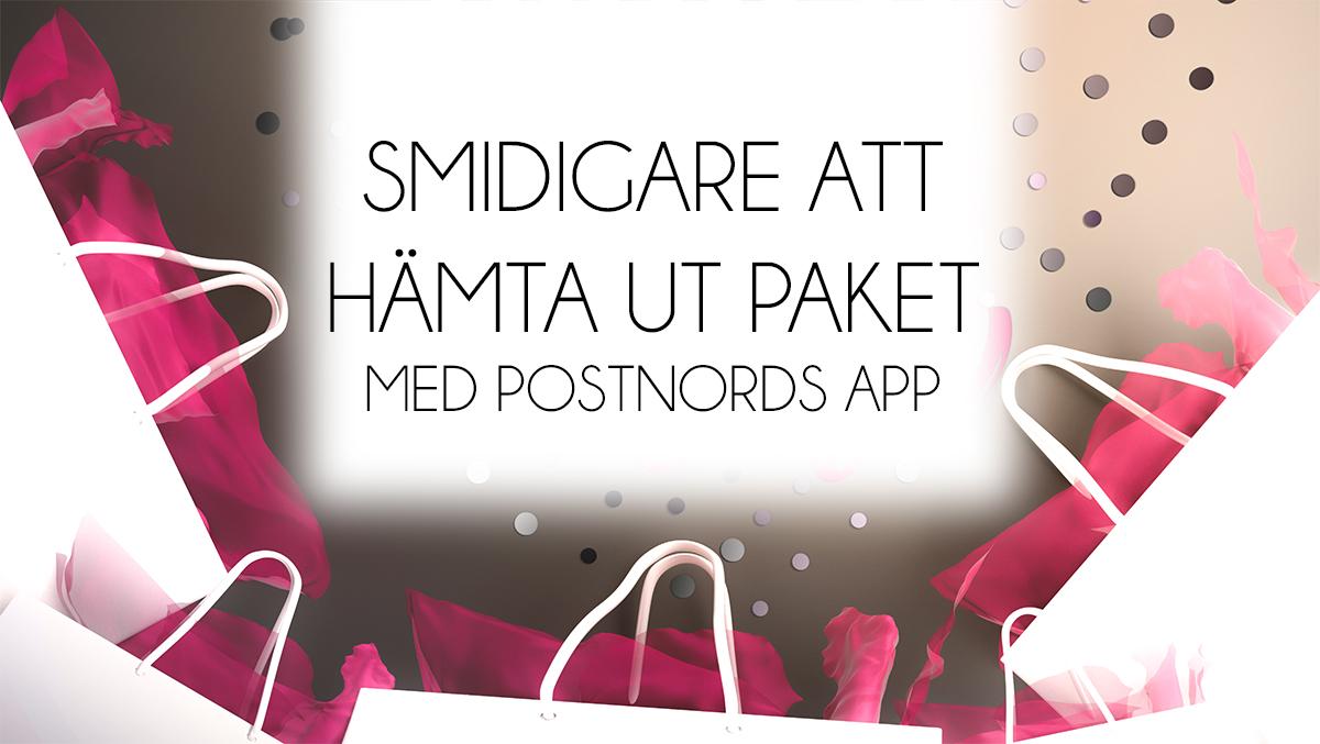 postnords app smidigt hämta paket
