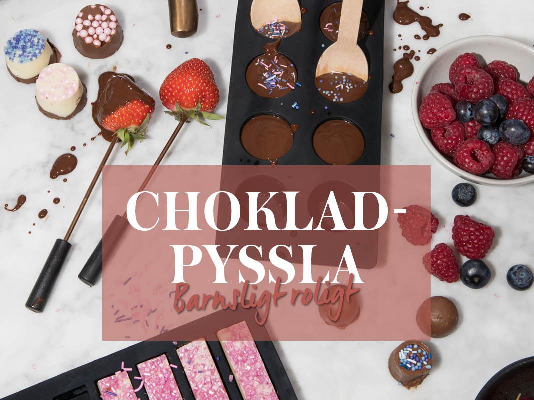 göra egna chokladpraliner